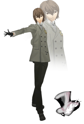 MMD Goro Akechi(Winter Suit) Model Download