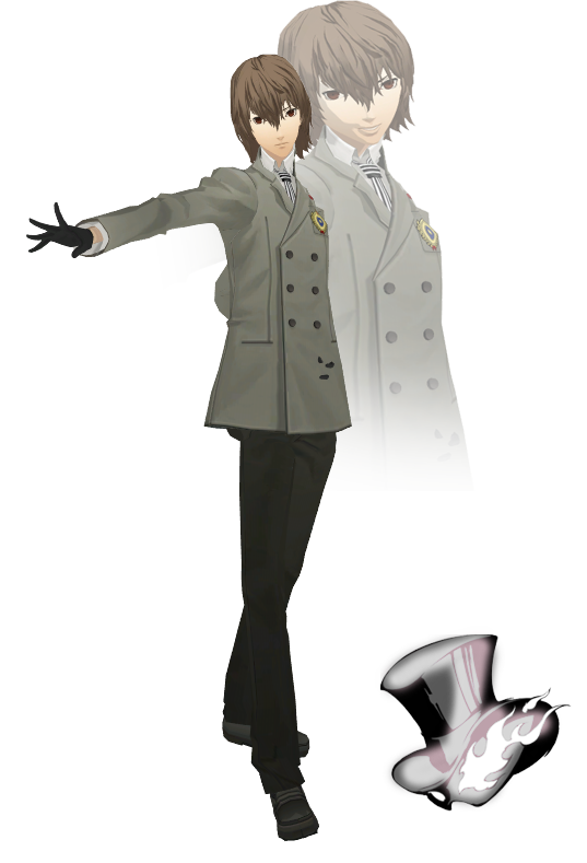 MMD Goro Akechi(Winter Suit) Model Download by TwoSidedMMD ...
