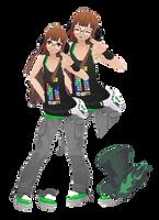 MMD Futaba Sakura(Summer) Model Download by TwoSidedMMD