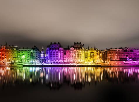 Stockholm Night Wallpaper