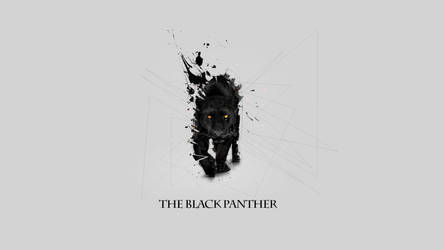 The black panther Background
