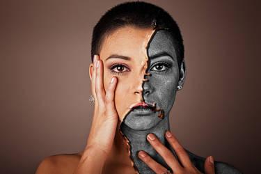 Half Face Paint 2019