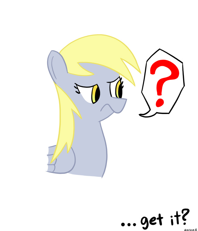 ATG - Derpy Confused by BrainDps