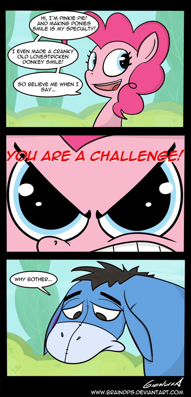 Pinkie Pooh by BrainDps