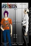 Psyren ch. 54 Cover