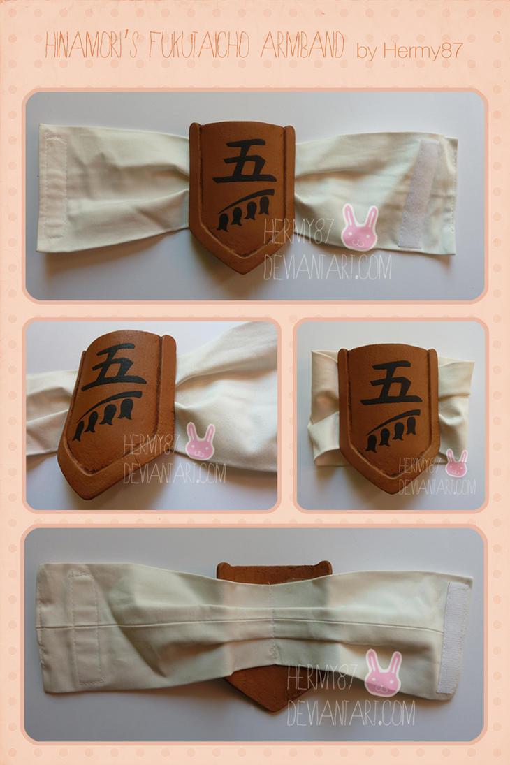 Hinamori's fukutaicho armband by Hermy87