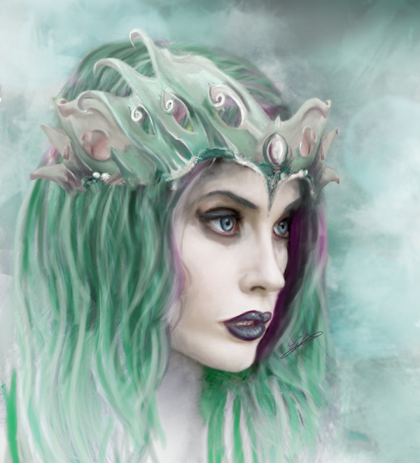 Naiad by MinaWalkure