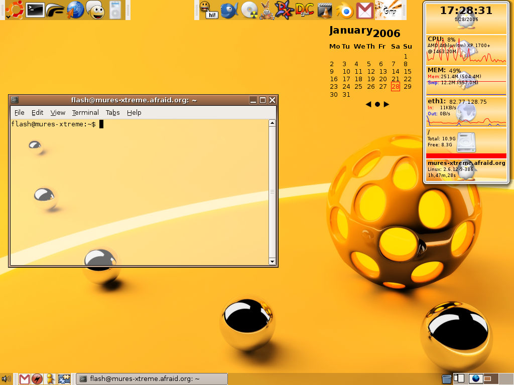 My ubuntu screenshot