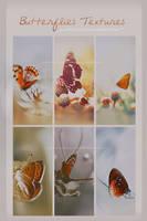 Butterflies Textures by Crazy-ArtistxD