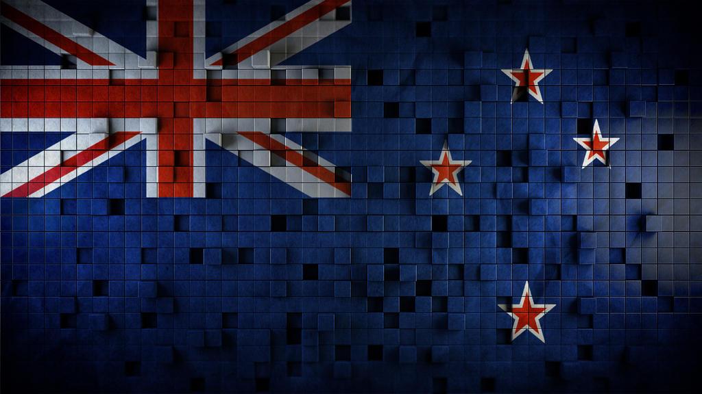New Zealand Flag Wallpaper: New Zealand Flag Cubes By DEATHD0G101 On DeviantArt