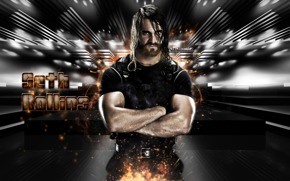 new wwe seth rollins 2014 hd wallpapersmiledexizer on deviantart
