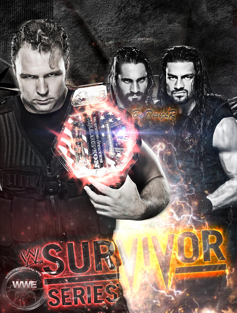 WWE Survivor Series 2014 poster by SmileDexizeR