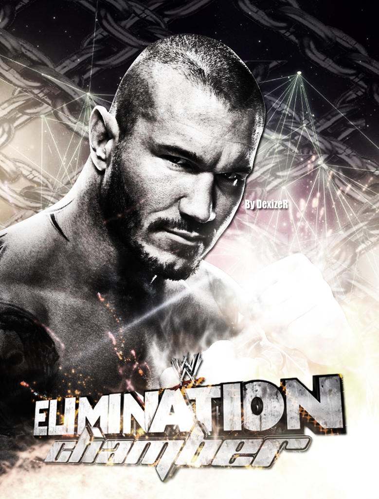 WWE Elimination Chamber 2014 poster by SmileDexizeR