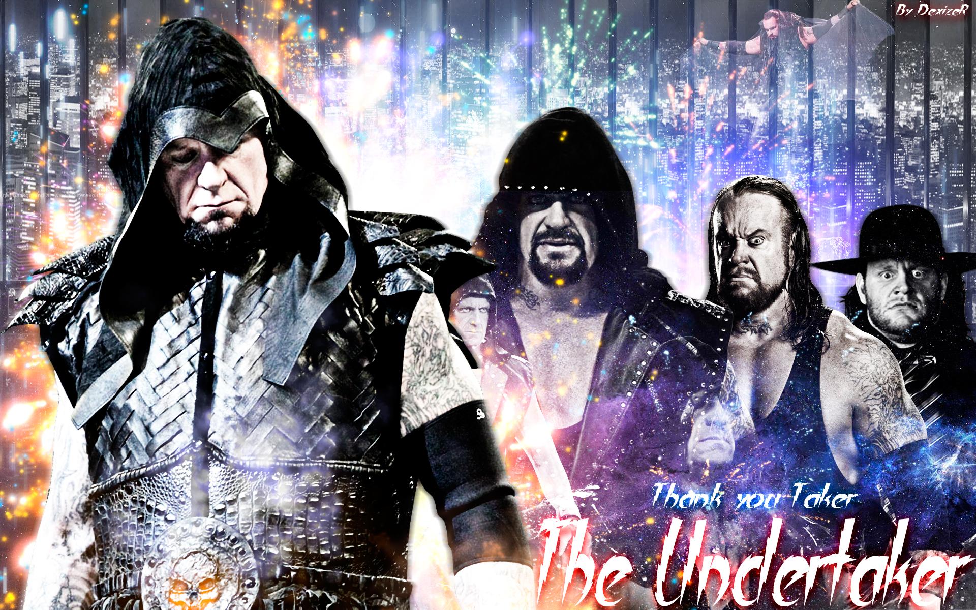 WWE The Undertaker 2014 HD By SmileDexizeR