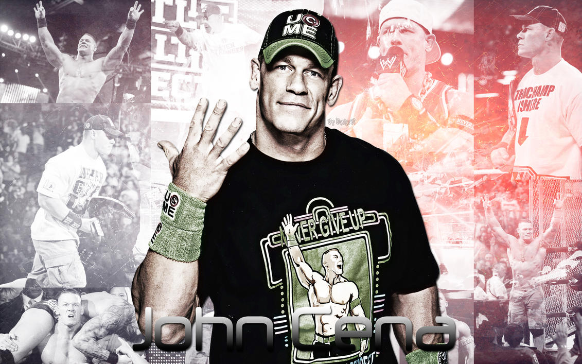 New WWE John Cena 2014 Wallpaper By SmileDexizeR