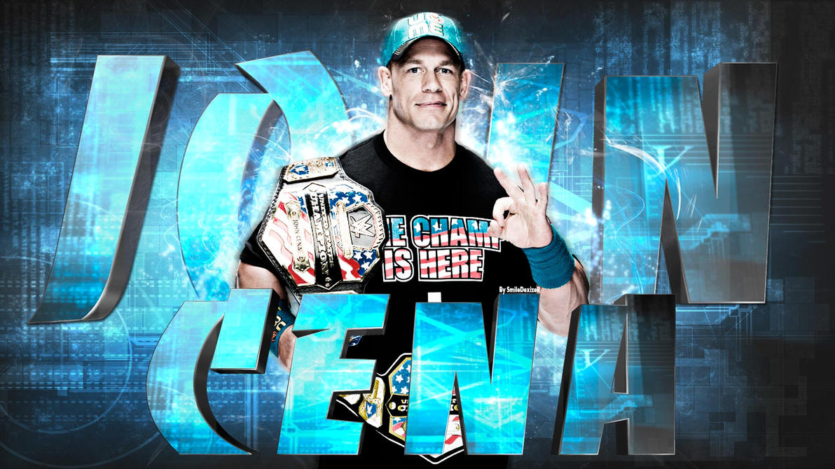 wwe john cena wallpaper by smiledexizer on deviantart