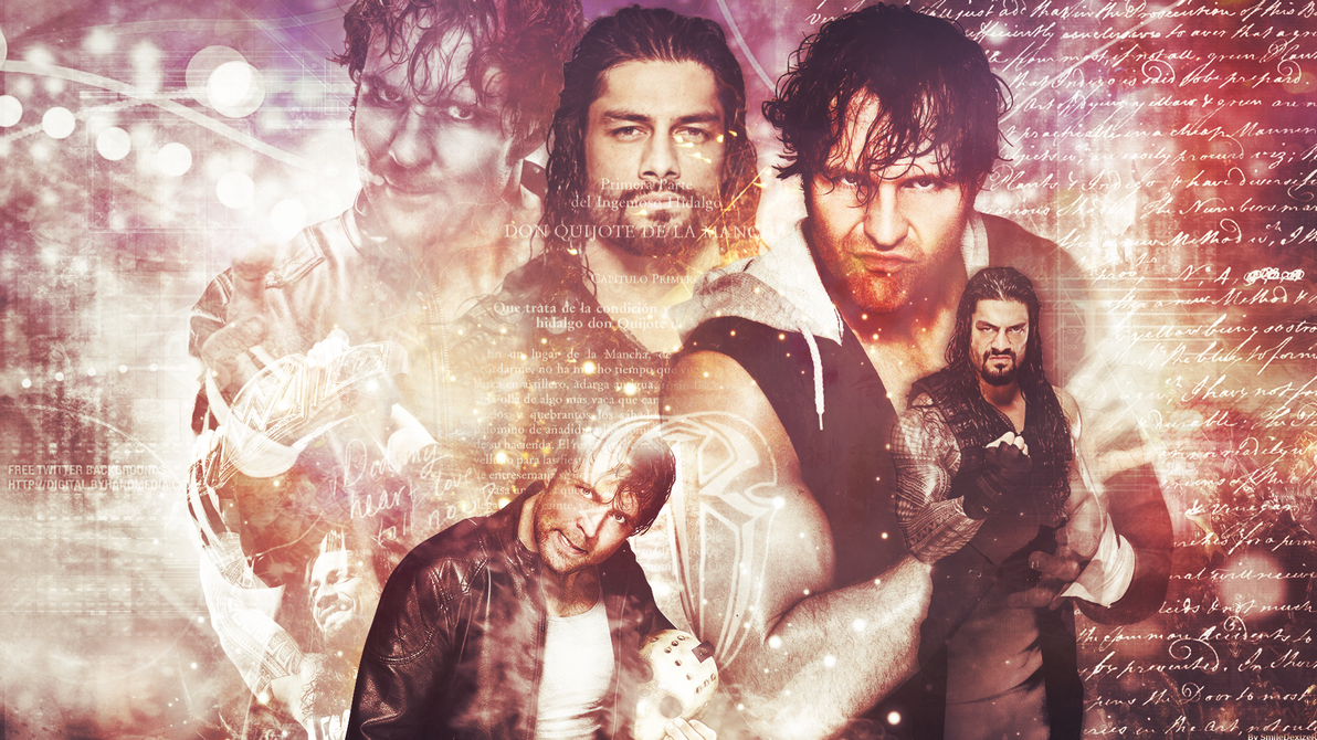 Roman Reigns And Dean Ambrose WWE Wallpaper By SmileDexizeR