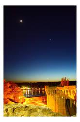 Avignon horizon by klaudelu