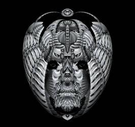 Bird Spirit - Evolved. by sylver-dali
