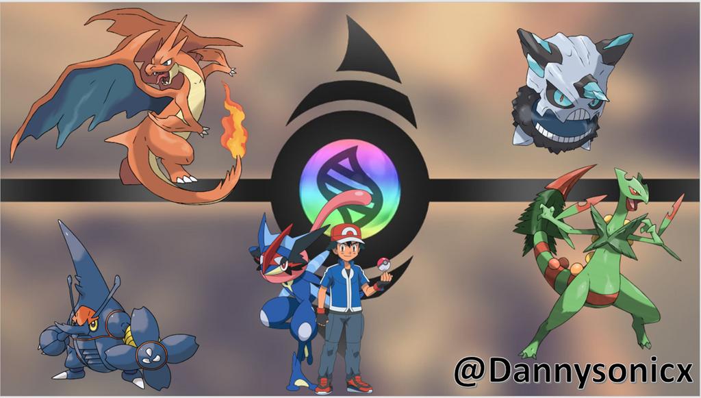 Pokemon mega evolutions favourites by mcsaurus on deviantart - Pokemon how to mega evolve ...