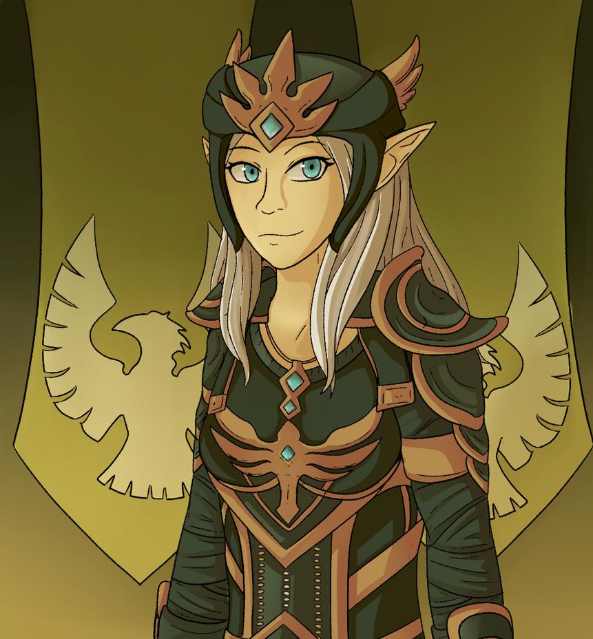 Queen Ayrenn by Sanguynn