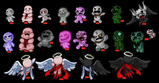Isaac Miniboss Pixels