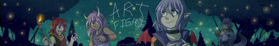 Art Fight Banner 18 by Sanguynn
