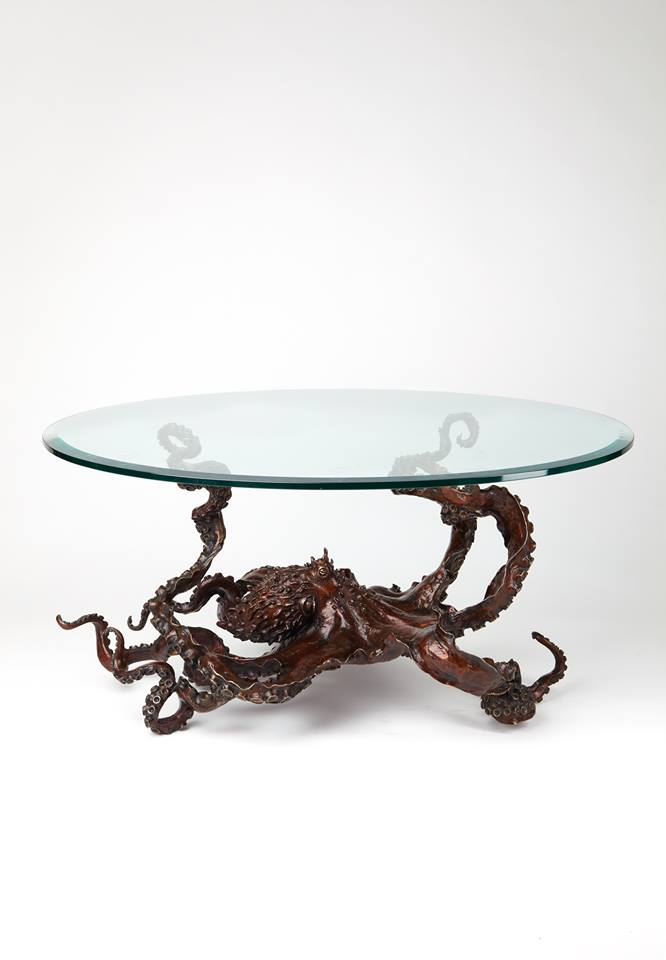 'CEPHALOPOD' octopus table by bronze4u