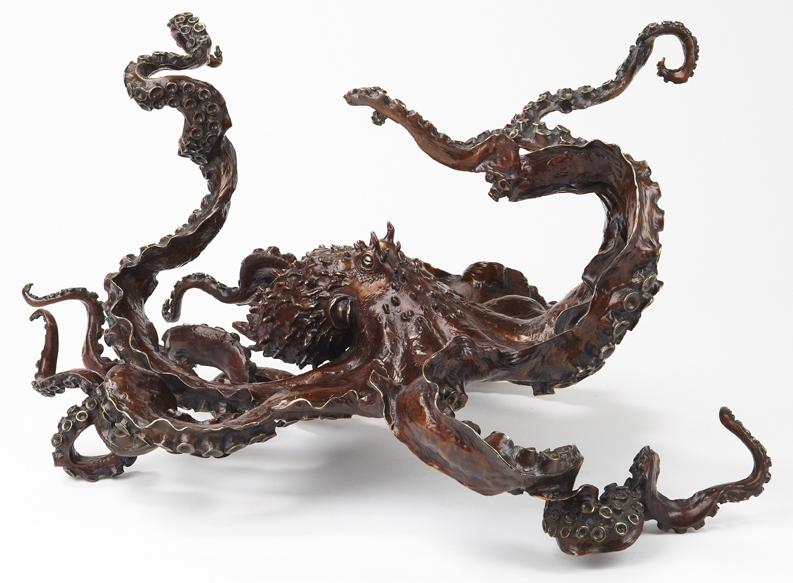 KIRK MCGUIRE 'CEPHALOPOD' Bronze by bronze4u