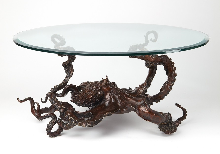 My bronze octopus coffee table $17,500.00 only 20 by bronze4u