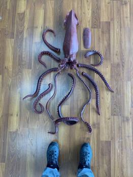 'LEGEND' Giant squid wax for bronze