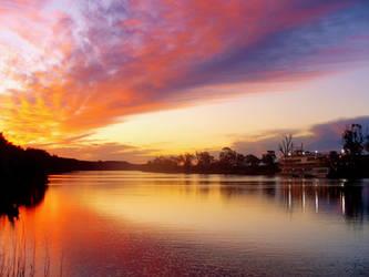 River Sunset II by samelthecamel