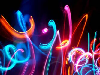Dancing Lights III by samelthecamel