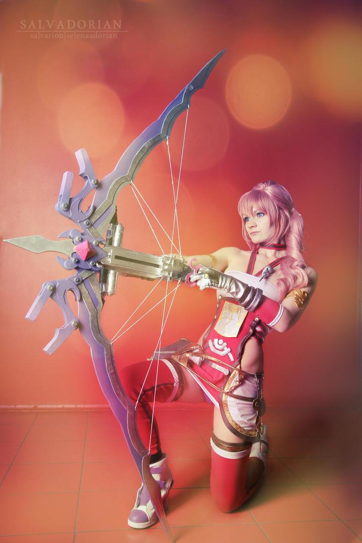 Serah Farron cosplay by Salvarion