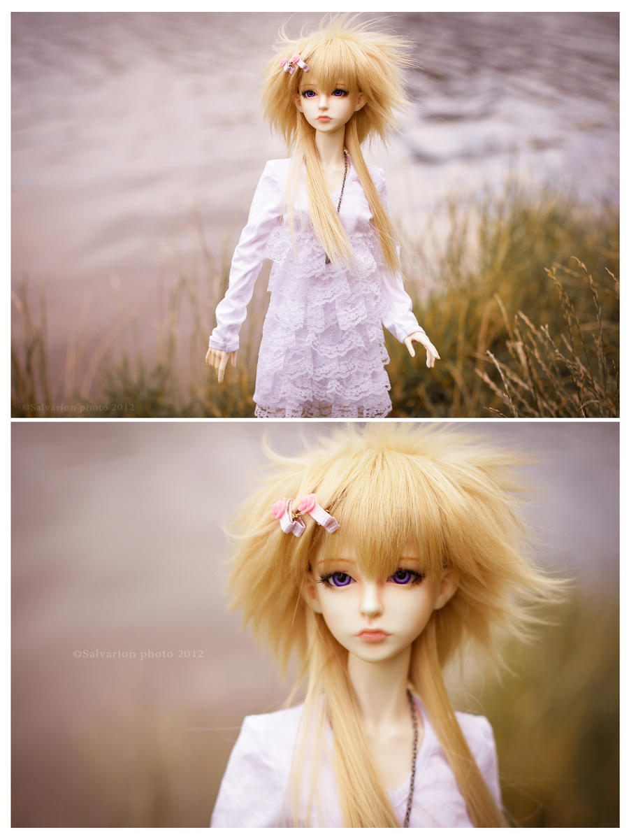 Foggy girl by Salvarion