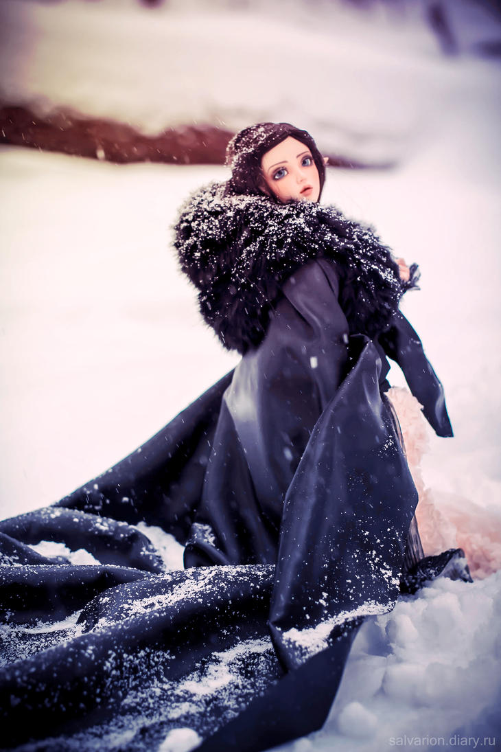 Black snow by Salvarion