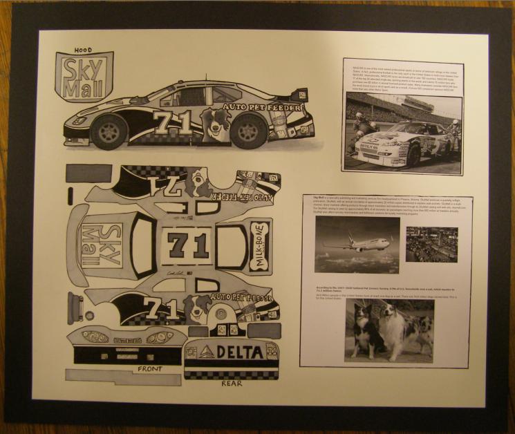 NASCAR pet feeder car design by KE-M72