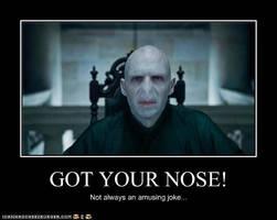 Voldemort Joke by MorganaDarkness