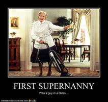 Supernanny Robin Williams by MorganaDarkness