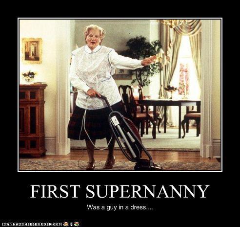 Supernanny Robin Williams by MorganaDarkness