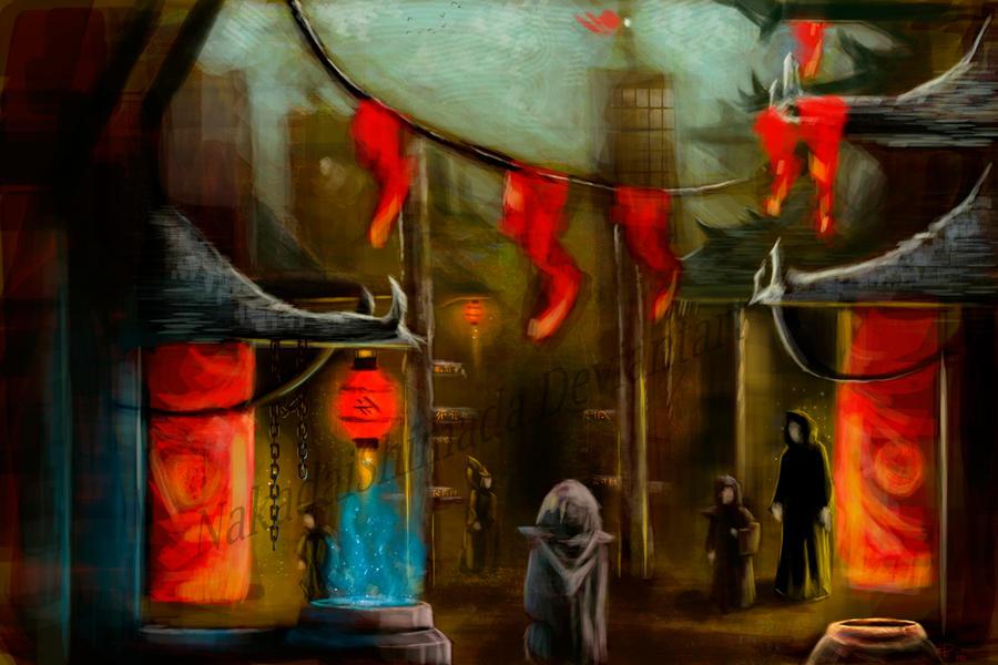 The market of the lost by NakadaiShimada