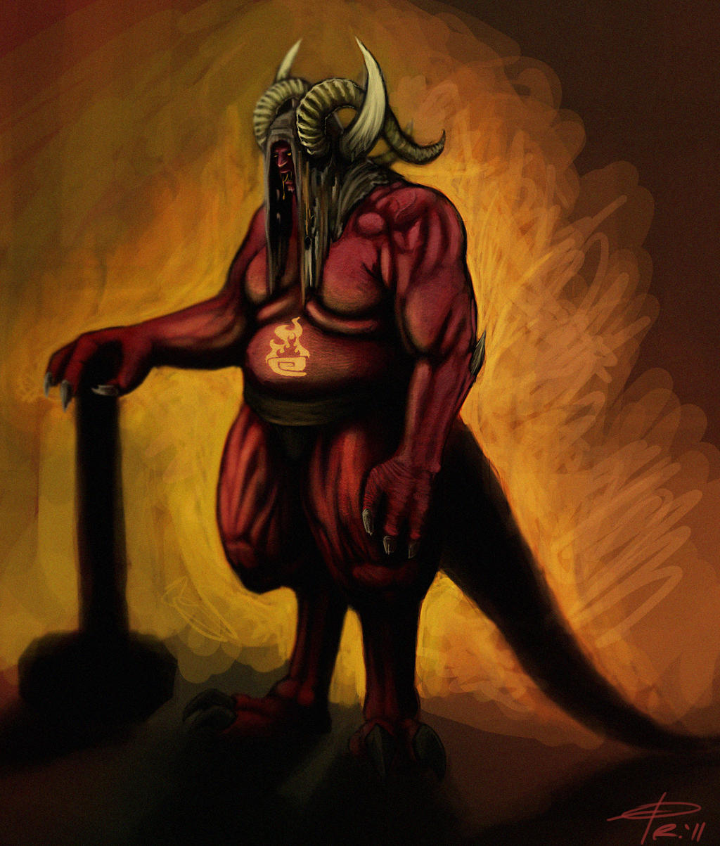 The Brimstone Brute by NakadaiShimada