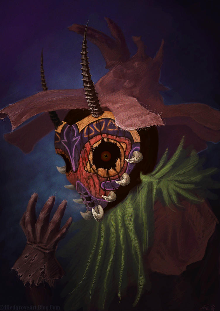 Masked Skullkid by NakadaiShimada