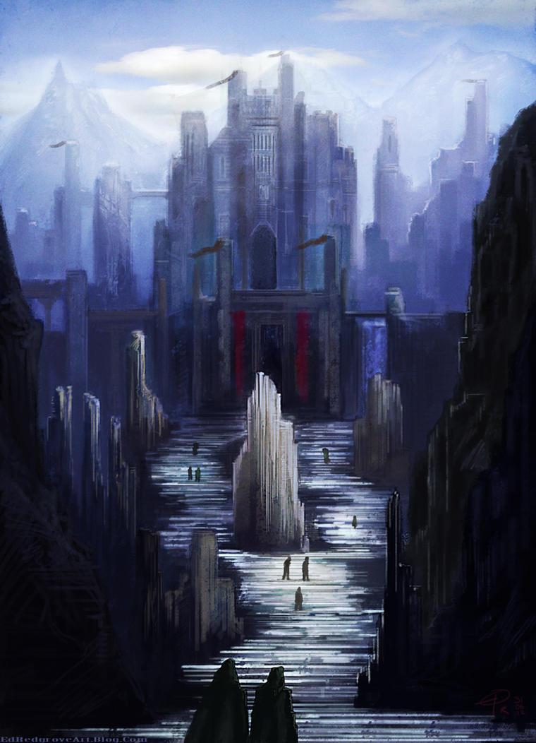 Mountain city by NakadaiShimada