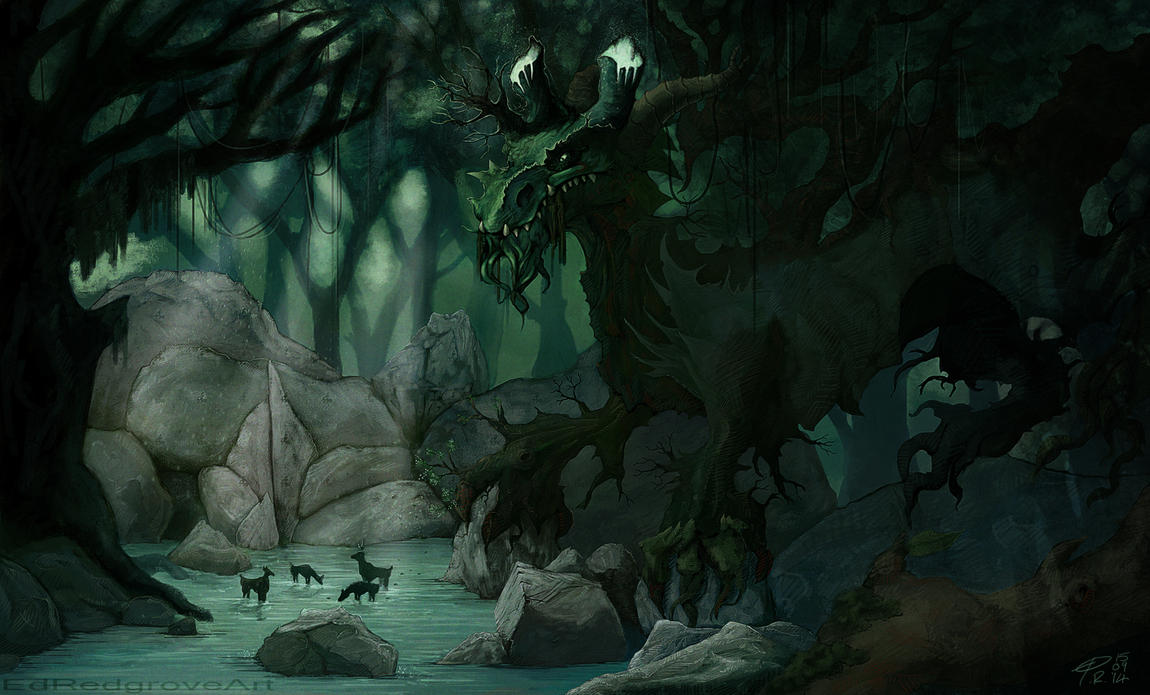 The Jungle Dragon by NakadaiShimada