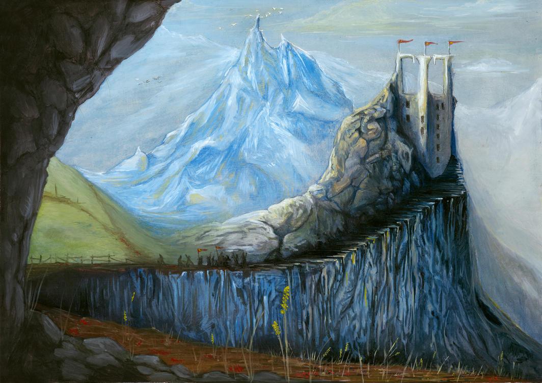 The Final Frozen tower by NakadaiShimada