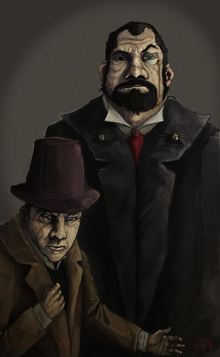 Misters Stipp and Critchlyn by NakadaiShimada