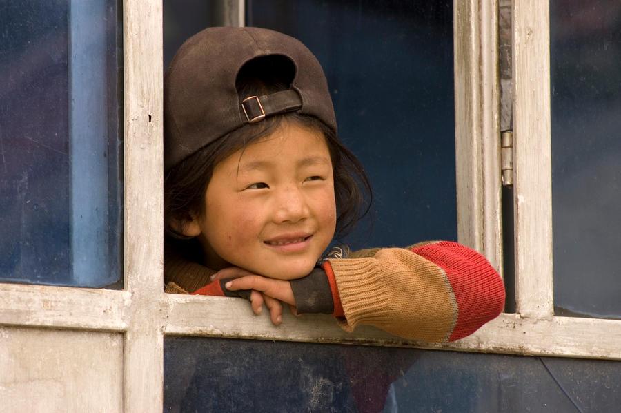 tibetan girl by kunsang