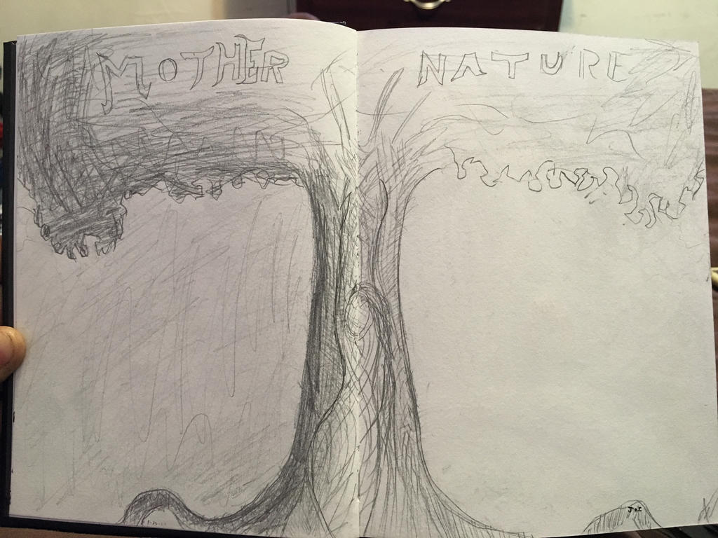 Mother Nature sketch by Eye-Sack1214 on DeviantArt