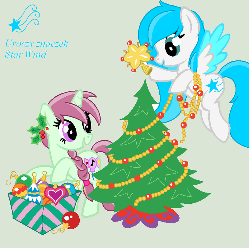 Candy Dance and Star Wind for Christmas by agakikama